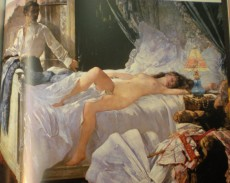 Paint by Henri Gervex (1852-1929)
