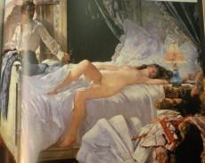 Paint by Henri Gervex (1852-1929)